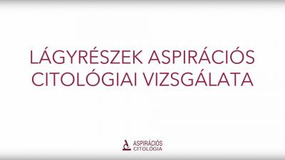 Lágyrészek aspirációs citológiai vizsgálata